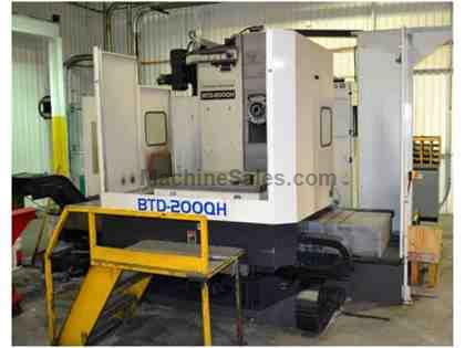 Toshiba BTD-200QH CNC Table Type Horizontal Boring Mill