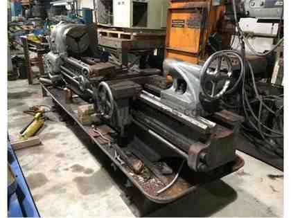 "17"" x 80"" Clausing Colchester engine lathe, 3-jaw chk, opt. 4-jaw"