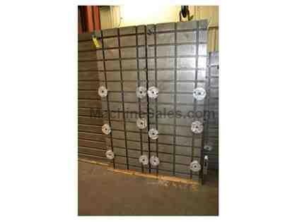 "(2) 72.5"" x 24.5"" x 37"" T-Slotted Angle Plates"