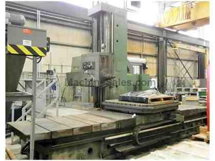 "5.12"" TOS Table Type Horizontal Boring Mill"
