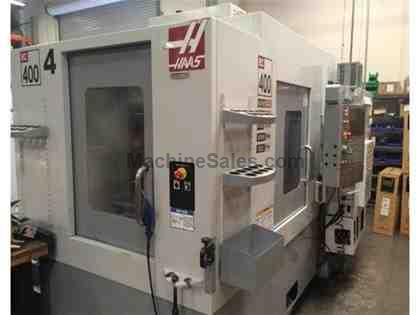 HAAS, EC-400, CNC HORIZONTAL MACHINING CENTER NEW: 2006
