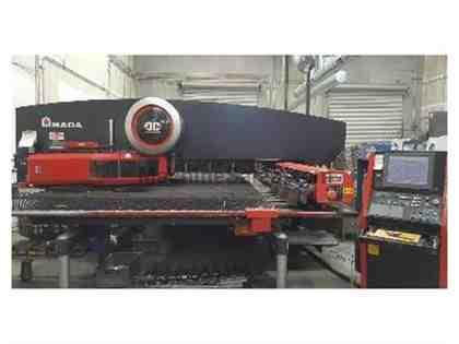 AMADA, EMK-3610NT, CNC TURRET PUNCH NEW: 2005