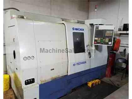 "Hwacheon Hi-Tech 400A (2005) Turn Dia. 16.5"", Length 30"","