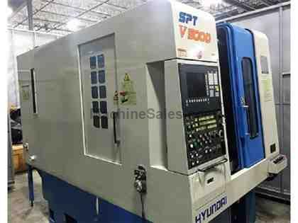 HYUNDAI SPT-V500D, Vertical Machining Center, used