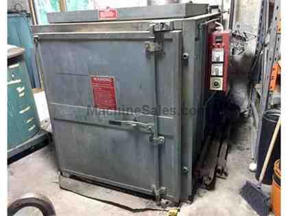 "POLLUTION CONTROL BURN OFF OVEN, 41""W  48""L  44""H   MODEL VP"