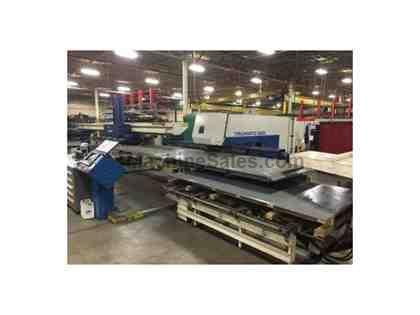 25 Ton, TRUMPF, TC500R-1300, SHEETMASTER,NEW LINEAR AMP,TOOLING,MFG:1998