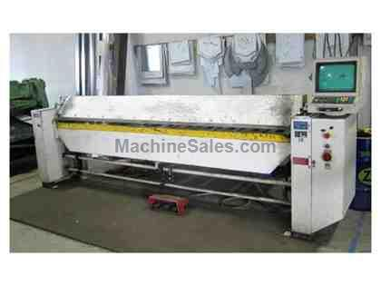 "Schechtl MA 310 16 Ga. x 122"" CNC Folding Machine"