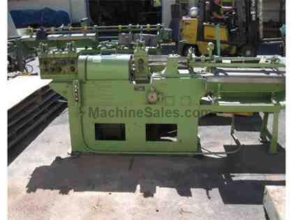 "1/4"" LEWIS 4F WIRE STRAIGHTEN & CUT MACHINE"