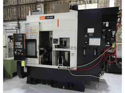 MAZAK IVS-200 CNC VERTICAL INVERTED SPINDLE  LATHE