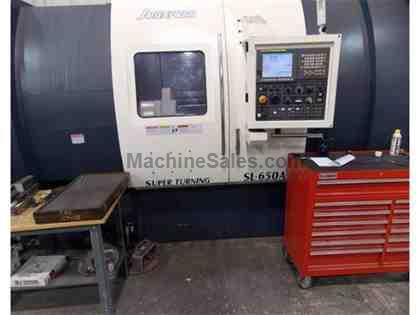 JOHNFORD SL-650A CSY CNC Turning Center With Live Milling