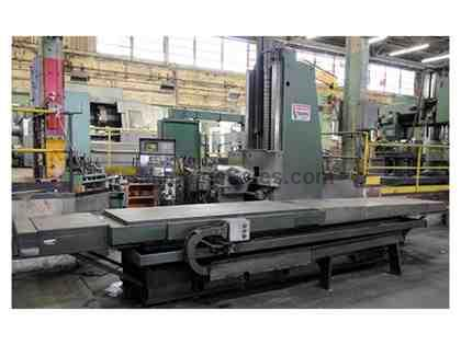 Pratt & Whitney Vikiing 96-A30 CNC Bed Type Horizontal Machining Center