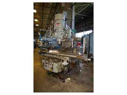 #430TF-20 KEARNEY & TRECKER HEAVY DUTY VERTICAL MILL