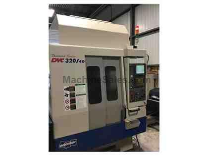 2007 Doosan DVC 320/40 Traveling Column CNC Machining Center