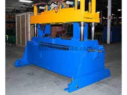 "35 Ton x 3"" BRADBURY 4-Post Cut-Off Press"