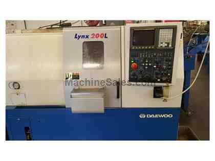 2000 Daewoo Lynx 200LC CNC Turning Center