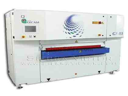 "52"" GECAM® Edge Rounding & Linear Steel Oxide Removal Machine"