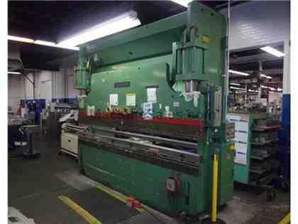 Cincinnati 175 TON Press Brake, Used CNC Press Brake, 10' brake press