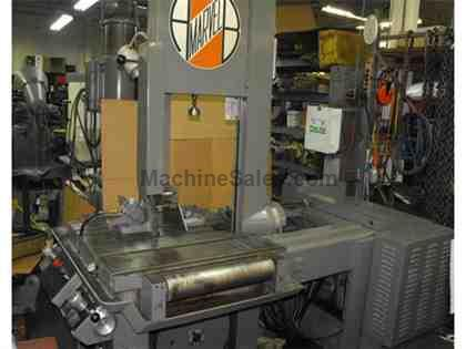 "18 X 20"" MARVEL MODEL 81A/M5/S TILTING COLUMN VERTICAL BANDSAW"