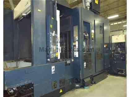 Makino A55, 1999 used Makino CNC Horizontal Machining Center for sale