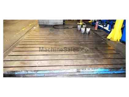 "(4) 68.89"" x 137.79"" x 13.77"" T-Slotted Floor Plates"