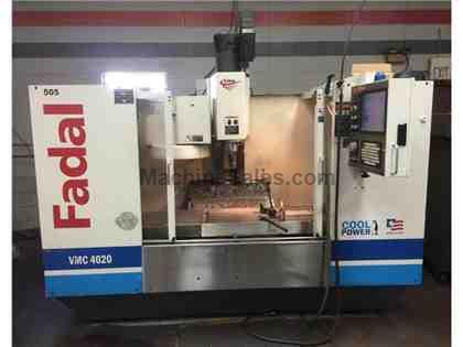 Fadal 4020 HT Vertical Machining Center, Used 2005 VMC Mill