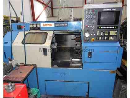 MAZAK QUICK TURN 15 N, Used 1993 Mazak QT 15N Lathe, QT15