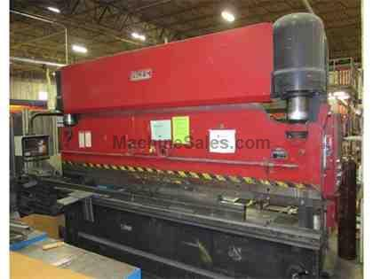 165 Ton Pacific J165-12 Hydraulic Press Brake W/Hurco Back Gauge