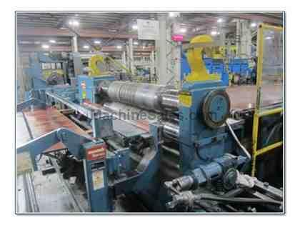 "72"" x 60,000 LBS STAMCO INJECTOR HEAD SLITTING LINE"