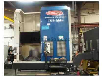 "40"" TOSHIBA TUE-100, FANUC OIT, 2013, 60 HP,47"" SWING, 600 RPM,12"