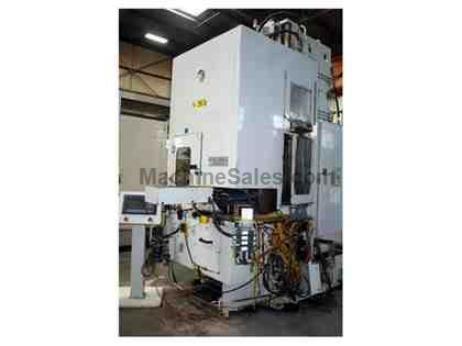 "10 Ton x 66"" stroke Ohio Vertical Table Up Internal Broaching Machine"