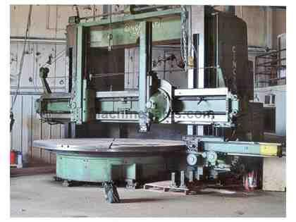 "120"" Giddings & Lewis Hypro Vertical Boring Mill"