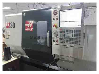 "HAAS DS-30, 2012, SUB SPINDLE, 8"" CHUCKS, TOOL PRESETTER, CHIP CONVEYO"