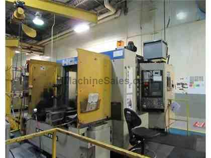 HITACHI SEIKI HG500 CNC HORIZONTAL MACHINING CENTER
