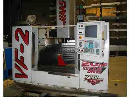 HAAS VF2 Vertical Machining Center ,30/16/20 travel, 1999