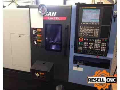 "Doosan Lynx 220LC - 2.63"" Bar, 4,000 RPM, 12 Tools, 2014"