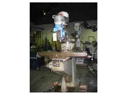 "Bridgeport 9"" x 42"" Vert. Milling Machine S/N: 45883"