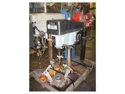 "Delta 15"" Drill Press, Model: 94K72508 Bowling Ball Drill with Fixture S/N:"
