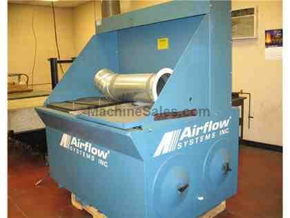 Airflow System Down Draft Table,  Model: DT3000V2-MC-SEXT-VF3-MS, 2007 S/N:
