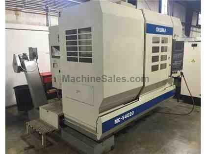 Okuma MC-V4020 vertical machining center, 2002