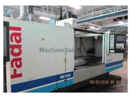 Fadal Model 8030 Vertical Machining Center , Year 10\99 delivered in 2000