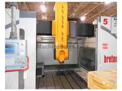 Breton Matrix 800-2T 5-Axis Vertical Machining Center