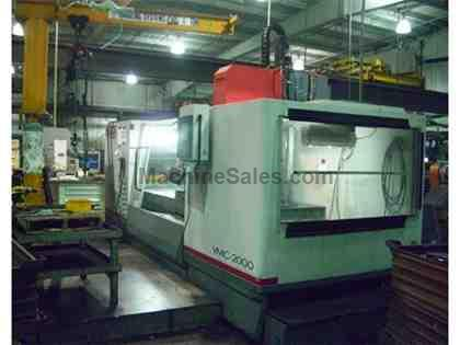 CINCINNATI ARROW 2000 MODEL ERD CNC VERTICAL MACHINING CENTER