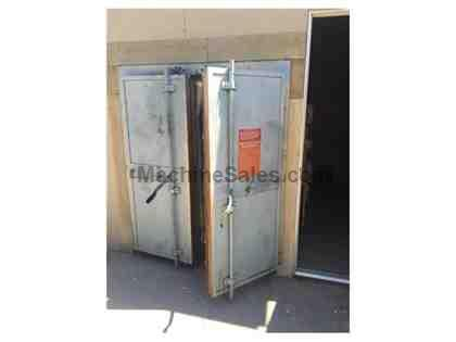 "48""W  52""L  60""H  POLLUTION CONTROL BURN OFF OVEN, MODEL PTR"