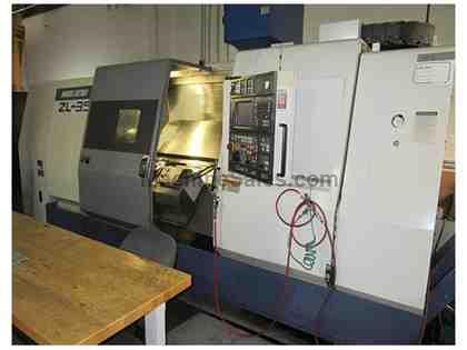 Mori Seiki ZL-35MC/1500 4-Axis CNC Turning Center with Live Tooling