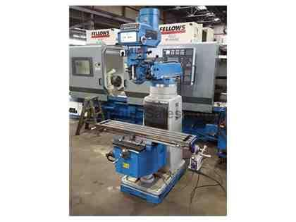 Forward Model 3VH 3 HP Vertical Ram Type Turret Milling Machine