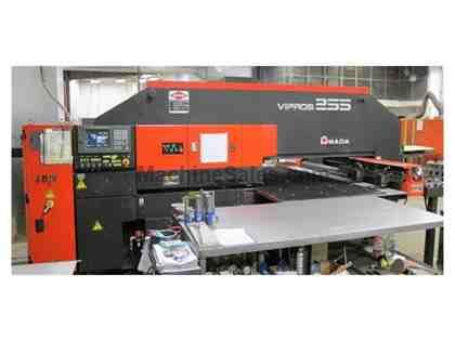 AMADA Vipros 255 22 Ton Hydraulic CNC Turret Punch Press