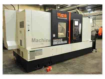 "MAZAK-QTN-350,29.5""SWING,60""CC,15""CHK,40-HP,3300-RPM,4"""