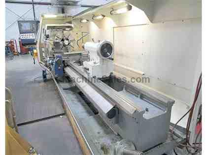 Weiler E-70/3000 Flat Bed CNC Turning Center, Weiler /Siemens D2 CNC