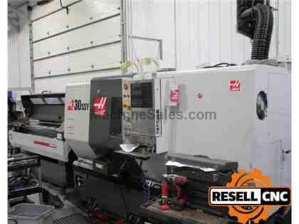 "Haas DS30SSY - 3"" Main Bar, 4,800 RPM, 2012"