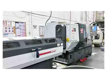 "HAAS DS-30 & SERVO BAR 300, 2012, BIG BORE (3""), SUB SPINDLE, HIGH"